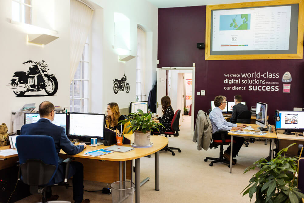 Purple Creative Studio Office